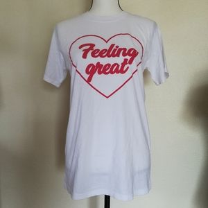 Mighty Fine Feeling Great Heart Graphic Shirt